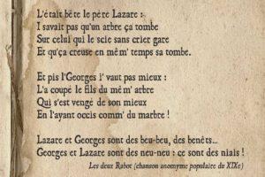 Le rabot de Louis par Thierry Brayer