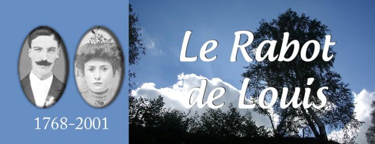 LE RABOT DE LOUIS - ROMAN SAGA