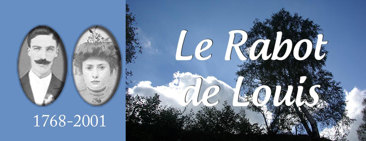 Le Rabot de Louis (saga)